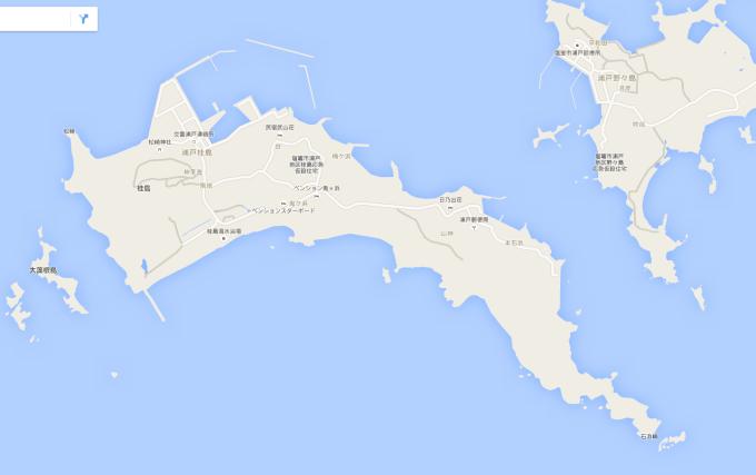 桂島MAP