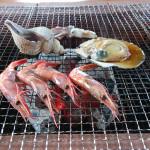 -8.2015年GW 離島+αの旅 天売島 炭火海鮮番屋で昼食