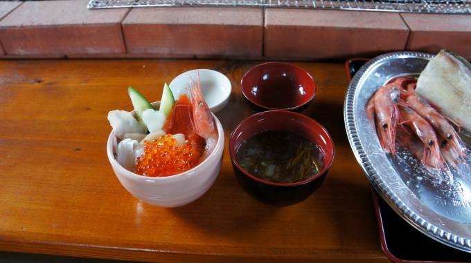 天売_炭火海鮮番屋_ミニ海鮮丼
