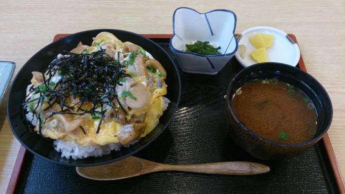 大アサリ丼1