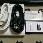 Huawei P9購入 ~USB Type-Cケーブル&アダプタ~