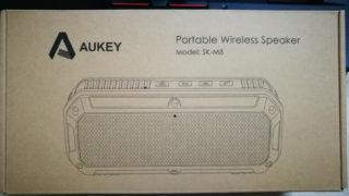 BlueToothスピーカー ANKEY SK-M8を購入