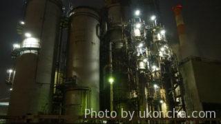 肉食系交通船で行く工場夜景探検ツアー -工場夜景-