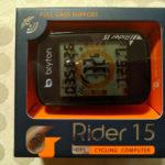 Brytonのサイクルコンピュータに変更してみた_Rider15の紹介