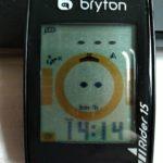 Brytonのサイクルコンピュータに変更してみた_Rider15の設定