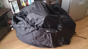 tern Eclipse P18 Carry On Cover 2.0(輪行袋)を使ってみた