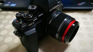OM-D E-M10 MarkII購入 ~単焦点レンズ購入~